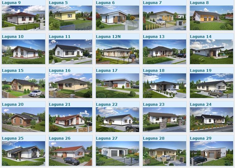 projekty domov